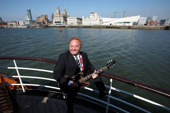 Gerry Marsden Recieves The Freedom Of The City