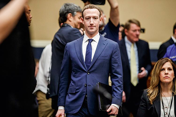 NO CONTROLE- Zuckerberg: o fundador do Facebook disse que não quer correr o risco de deixar Trump postar -