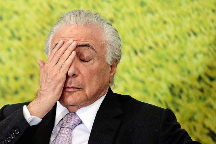 """PROTAGONISTA -?Michel Temer: segundo Cunha, """"o militante mais atuante"""" -"""
