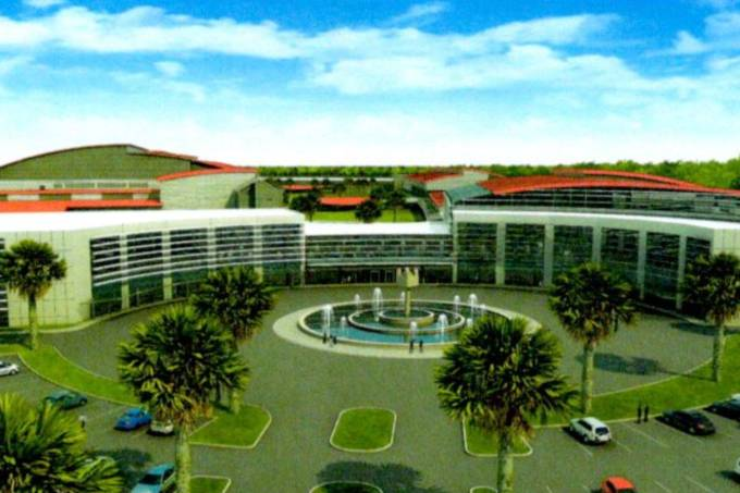 Novo centro Biomanguinhos Fiocruz
