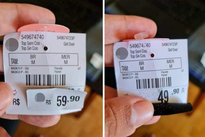 Tag-de-preços