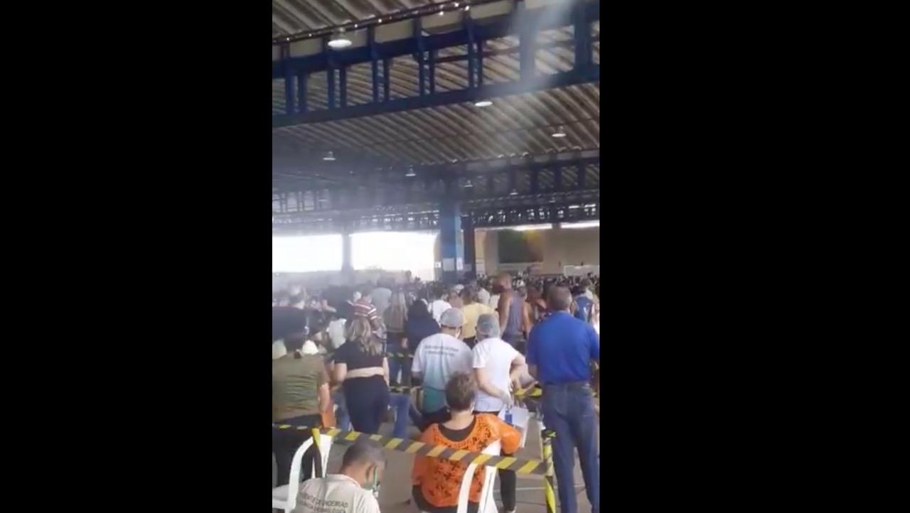 No Maranhão, vacinação contra a covid-19 causa…aglomeração