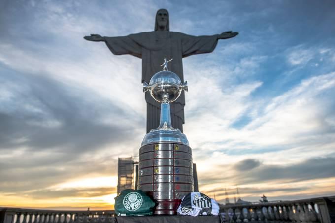 Palmeiras e Santos fazem a final da Libertadores 2020 no Maracanã
