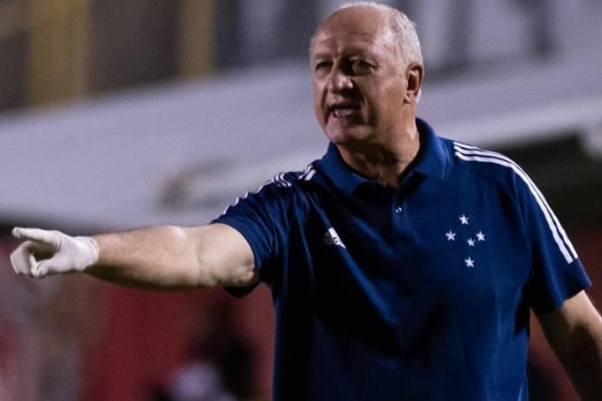 Luiz Felipe Scolari, técnico do Cruzeiro