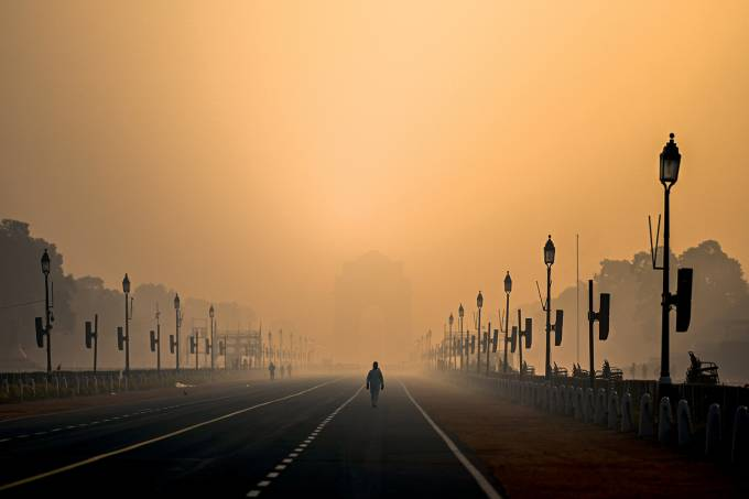 INDIA-WEATHER-POLLUTION