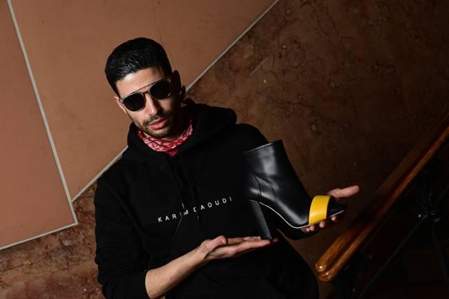 Karim Daoudi, nascido no Marrocos, cresceu em uma cidade onde se fabricava calçados no norte da Itália e acabou aprendendo o artesanato local -