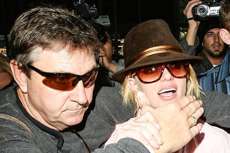 TUTOR -Jamie Spears, o pai da cantora: direito legal de tomar decisões por ela -