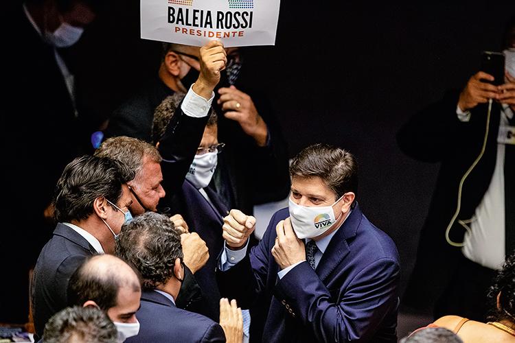 PADRINHO -Baleia Rossi: ele garante que soube do caso pela imprensa -