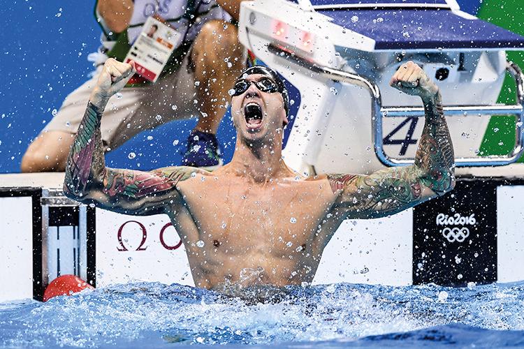 VETERANO -O americano Anthony Ervin: ouro nos 50 metros livre no Rio, em 2016, aos 35 anos -