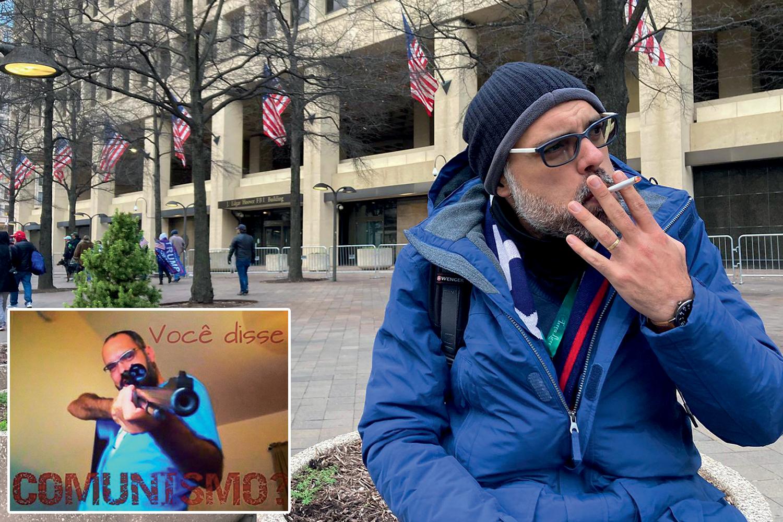 FAKE MADE IN USA - Allan dos Santos: investigado por difundir notícias falsas, o blogueiro bolsonarista se mudou para os Estados Unidos, mas continuou produzindo lorotas -