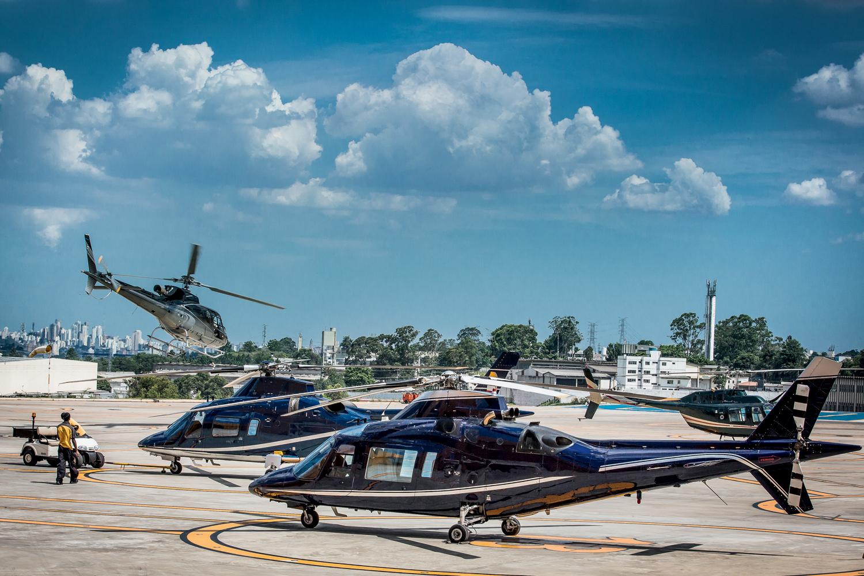 CONGESTIONAMENTO -São Paulo: a maior frota de helicópteros do mundo -