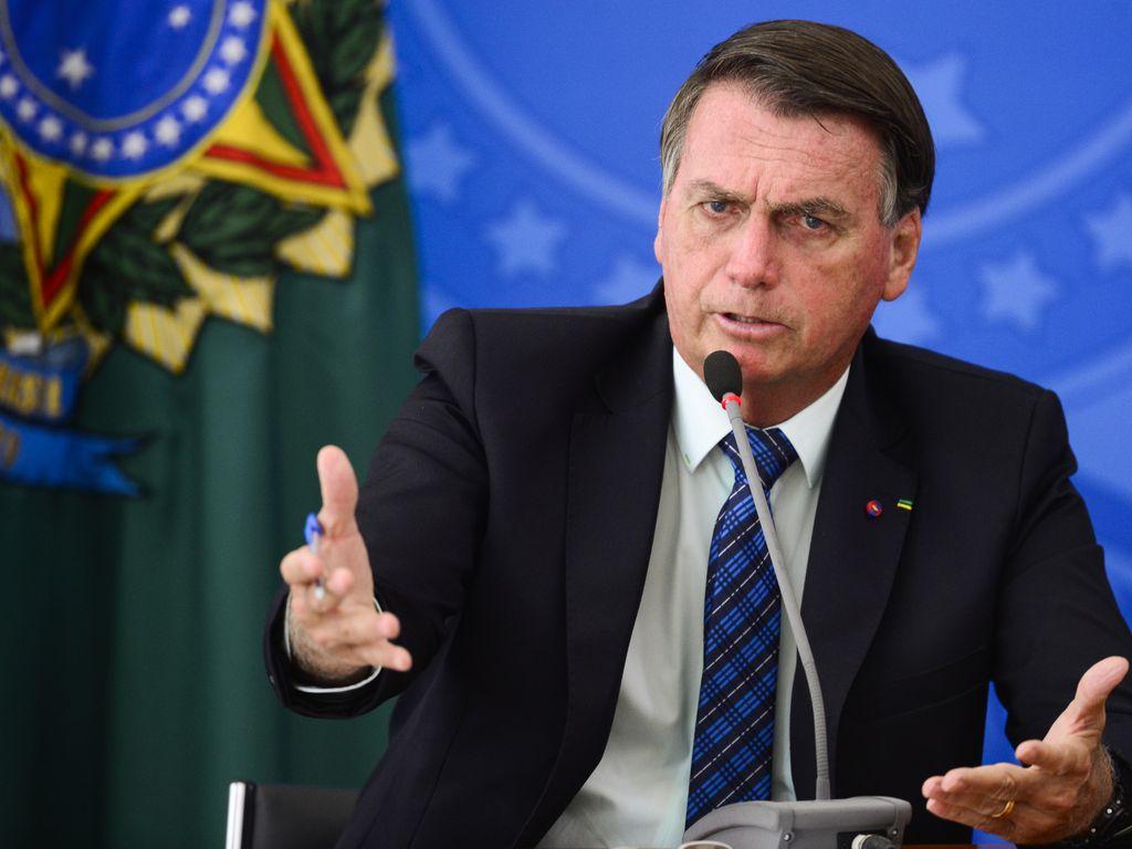 O presidente Jair Bolsonaro.