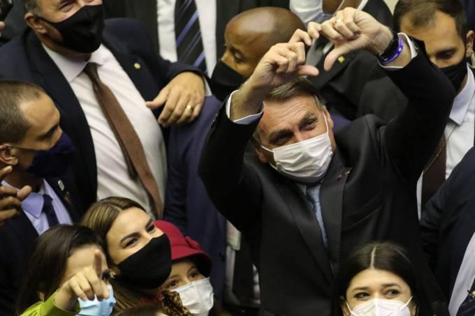 Bolsonaro na Câmara