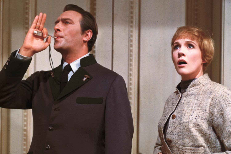 Christopher Plummer e Julie Andrews em 'A Noviça Rebelde'