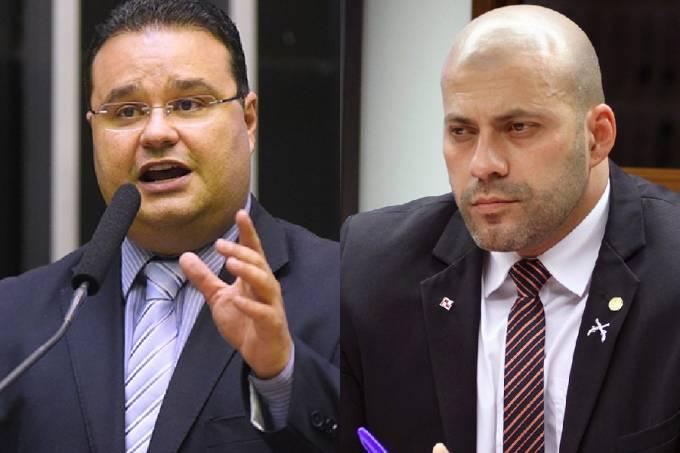 Fabio Trad e Daniel Silveira