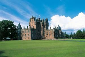 Castelo de Glamis, em Angus, na Escócia