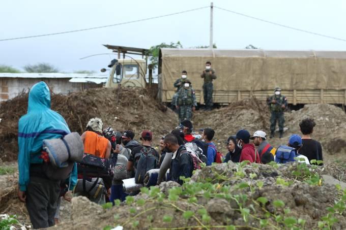Peru Blocks Border With Ecuador to Prevent Venezuelan Migrants Crossing Amid Coronavirus Pandemic