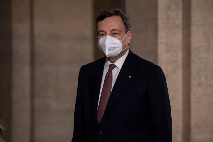 Mario Draghi Meets Sergio Mattarella To Be Appointed New Italy PM