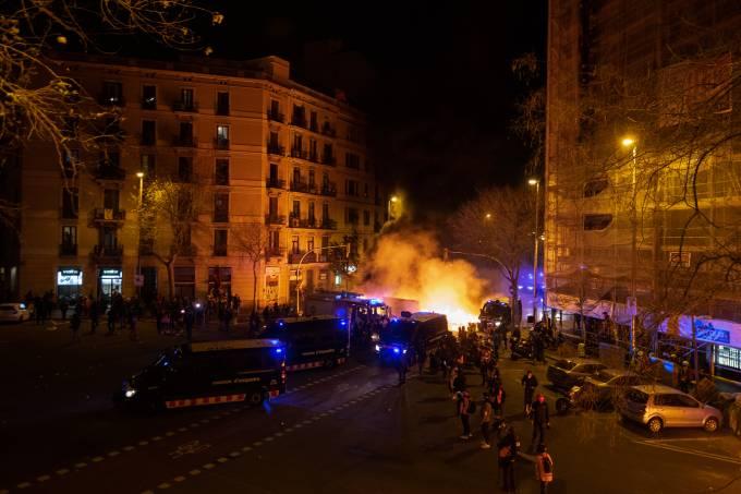 Demonstration in Barcelona