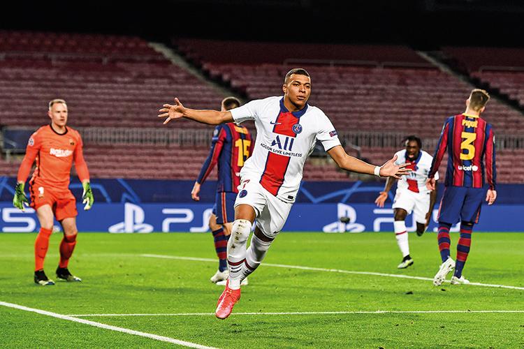 CONSOLIDADO -Parceiro de Neymar: o francês Mbappé, de 22 anos, campeão do mundo e uma das estrelas do PSG -