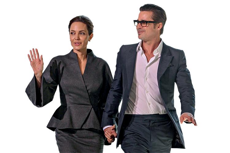 """""""BRANGELINA""""- Divórcio: depois do rompimento, o quadro comprado por Brad Pitt ficou com a ex-mulher -"""