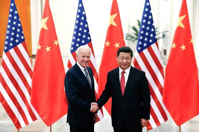 U.S Vice President Joe Biden Visits China