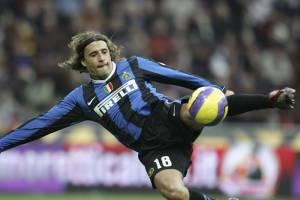 Hernan Crespo durante sua passagem pela Inter de Milão, em 2006