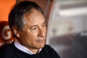 O técnico argentino, Ariel Holan -