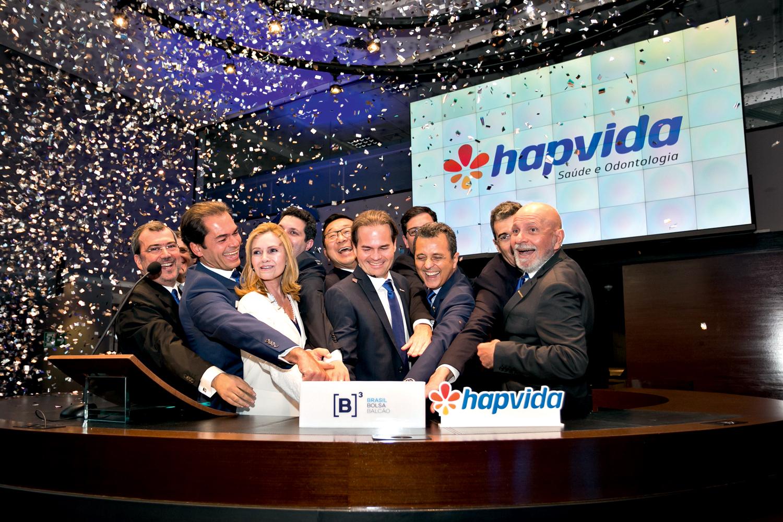 EXPLOSÃO -IPO da Hapvida: empresa articula fusão com a NotreDame Intermédica -
