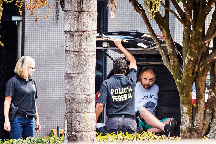 A QUEDA -Operação Spoofing: prisão ocorreu em julho de 2019 -
