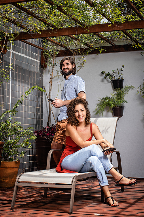 Ornella Grillo e Gabriel Moriani -