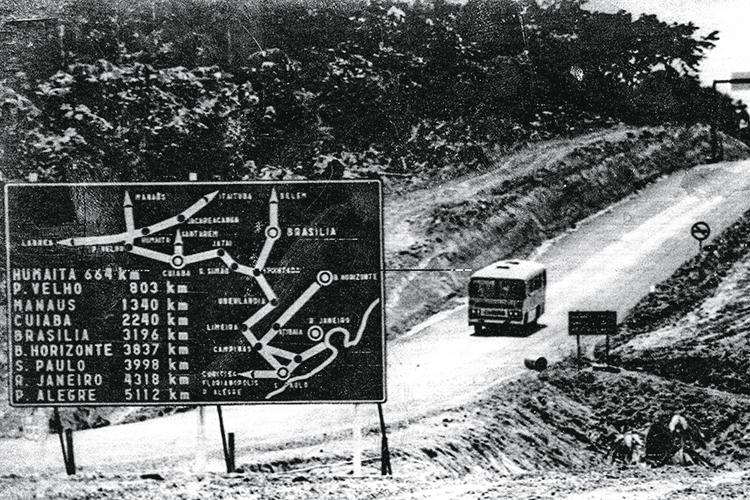 ESTRATÉGIA- Transamazônica: a rodovia foi um dos símbolos do projeto militar de integrar o Brasil -