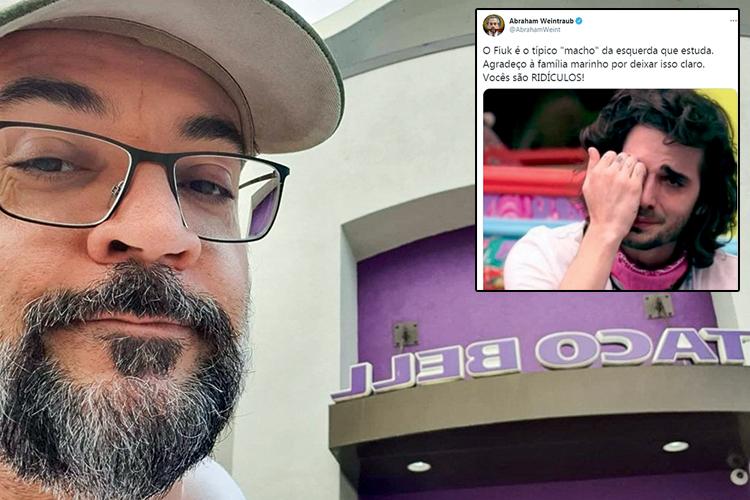 POLÍTICA - De olho na casaWeintraub: o ex-ministro, que deixou o Brasil depois de pregar cadeia para os juízes do STF, agora dedica parte de seu tempo a criticar participantes do BBB 21 -