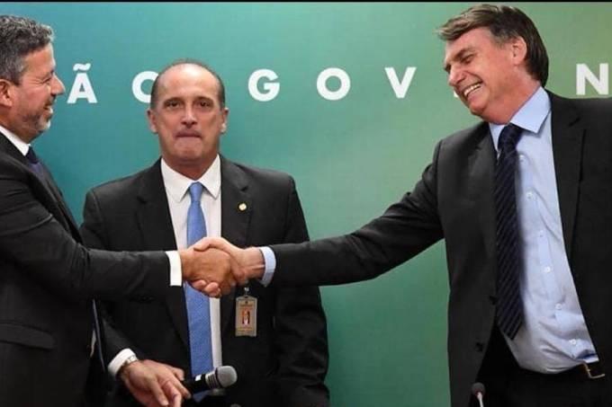 O presidente da Câmara Arthur Lira (PP-AL) e o presidente Jair Bolsonaro