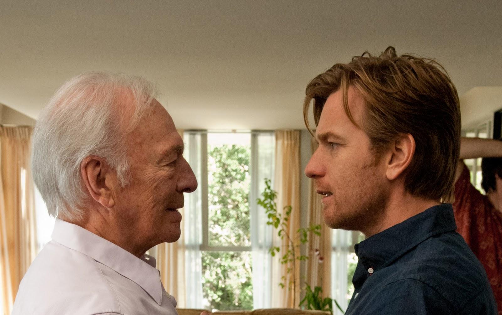 Cena do filme 'Toda Forma de Amor', com Christopher Plummer e Ewan Mcgregor