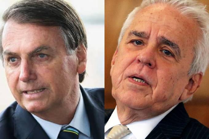 Bolsonaro e Castello Branco