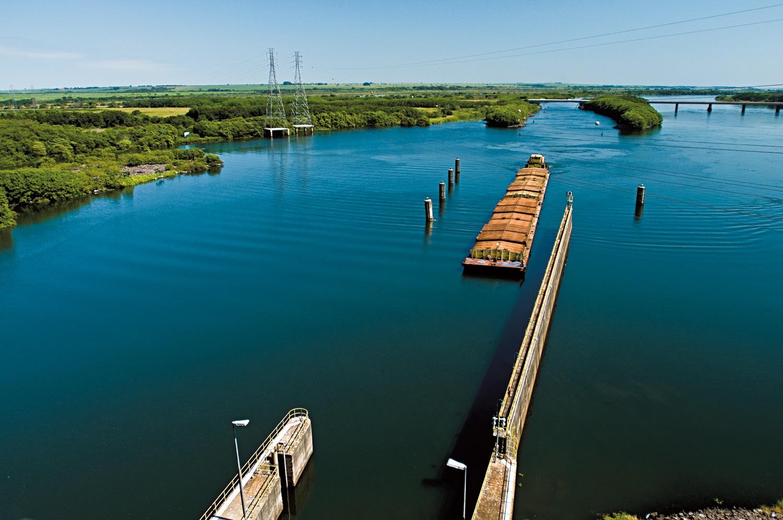 Hidrovia Tietê-Paraná prevê expansão em 2021