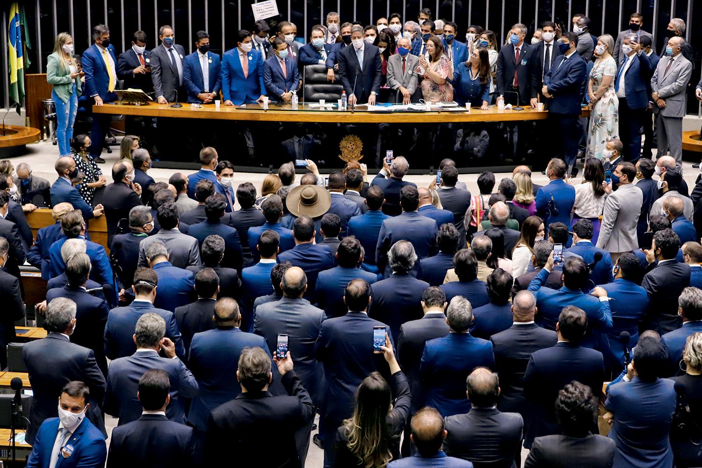 FORÇA -Base: o Planalto tem hoje mais de 300 deputados e cinquenta senadores, o que pode facilitar a aprovação de projetos -