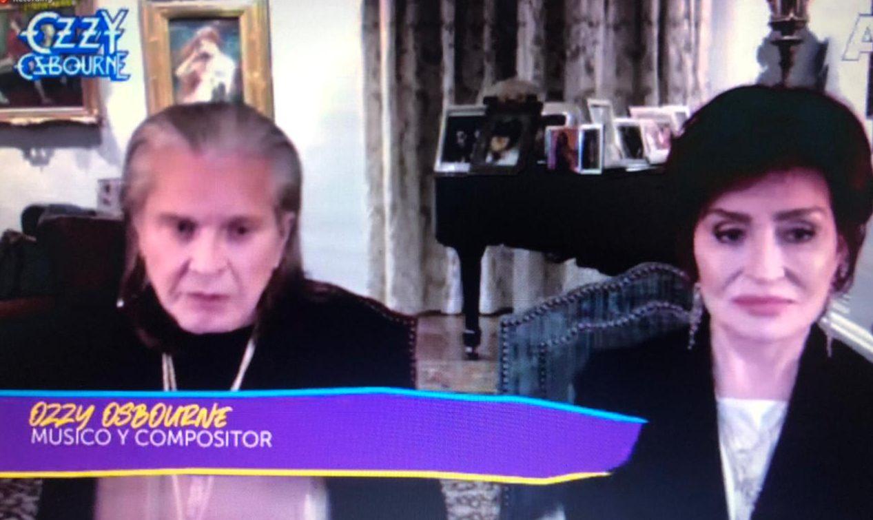 Ozzy Osbourne e Sharon conversam com a imprensa sobre documentário