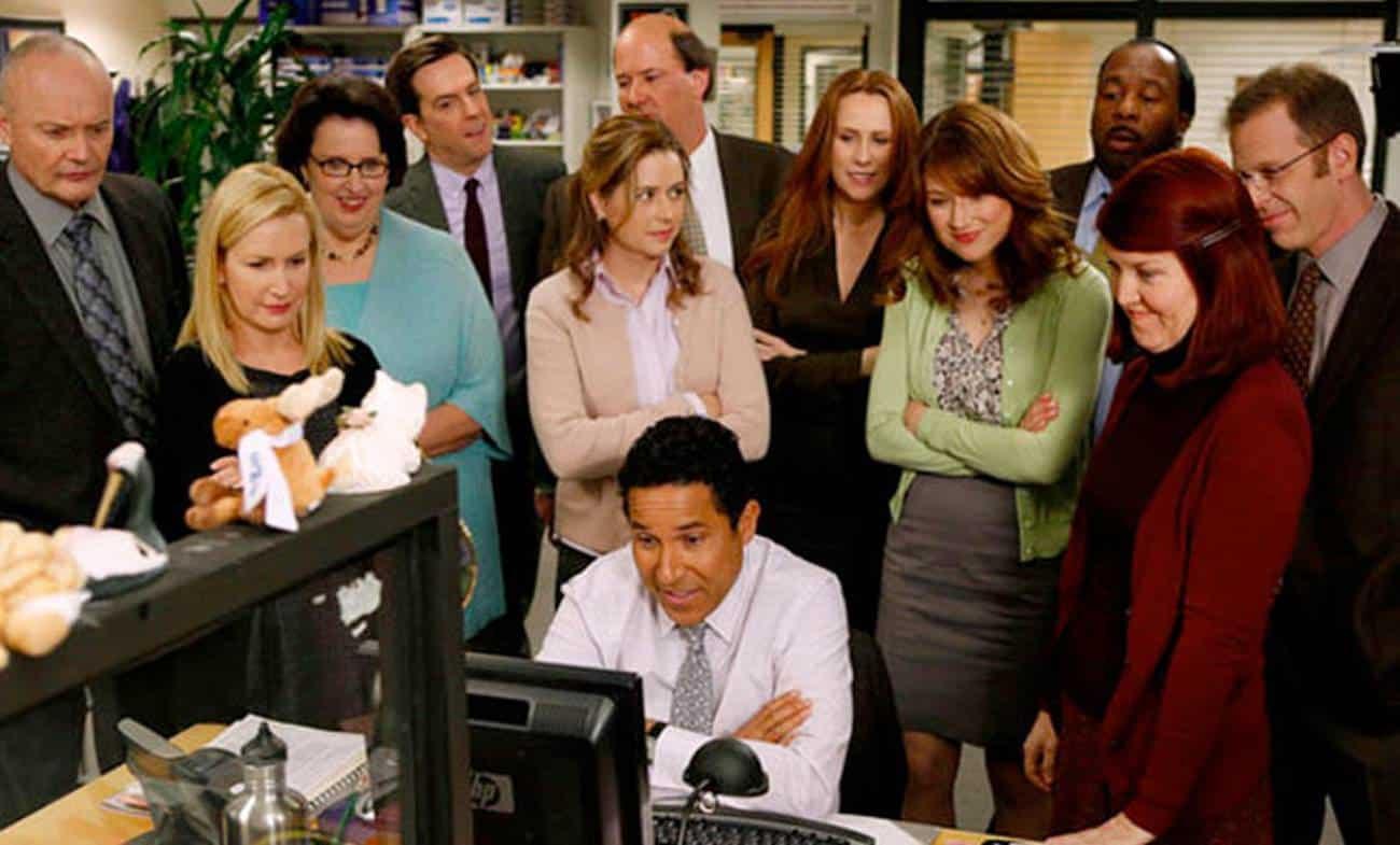 O elenco da série de 'The Office'