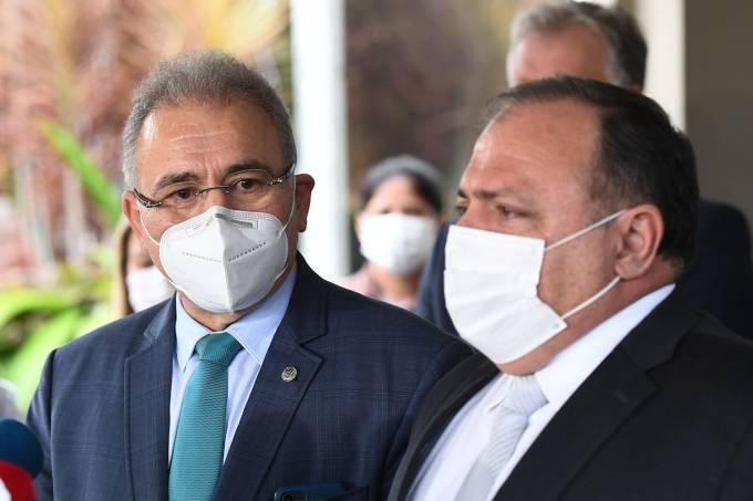 BRAZIL-HEALTH-VIRUS-MINISTRY-QUEIROGA-PAZUELLO