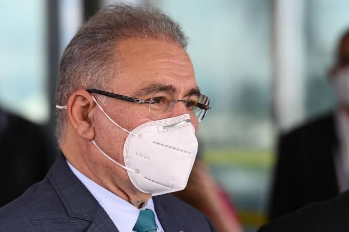 BRAZIL-HEALTH-VIRUS-MINISTRY-QUEIROGA