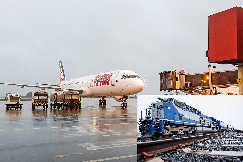 NO CARDÁPIO -Aeroporto de Curitiba e Ferrovia Oeste-Leste: rodada de 10 bilhões de reais -