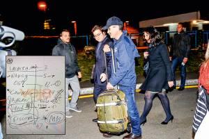A ORIGEM -O bilhete e Flávio Lúcio Magalhães: papel apreendido durante operação que prendeu o consultor -