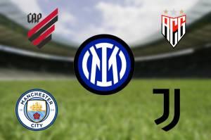 Inter de Milão, Juventus, Athletico-PR, Manchester City e Atlético-GO aderiram as mudanças de símbolos -