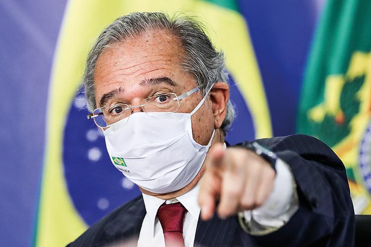 AGENDA LIBERAL - O ministro Paulo Guedes: pressão pelas reformas -