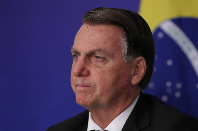 O presidente Jair Bolsonaro – 26/03/2021 –