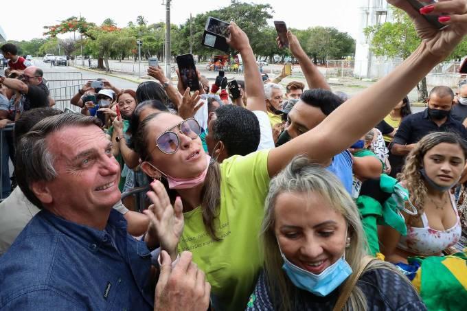Bolsonaro em Tinguá