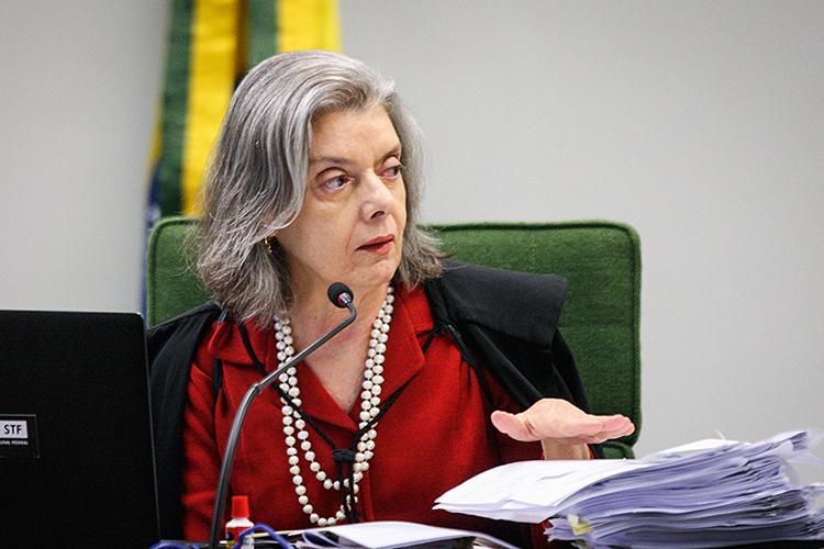 Ministra Cármen Lúcia -