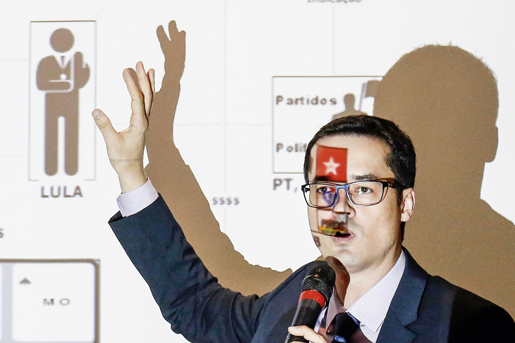 DESMONTE -Deltan Dallagnol, o líder da Lava-Jato: outros condenados vão querer o mesmo tratamento de Lula -